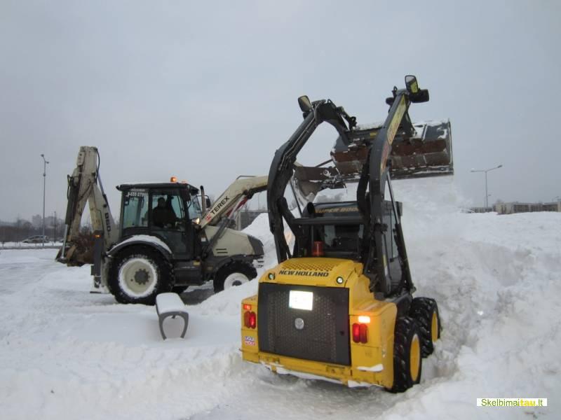 Kelių barstymas, 865907990, sniego stumdymas