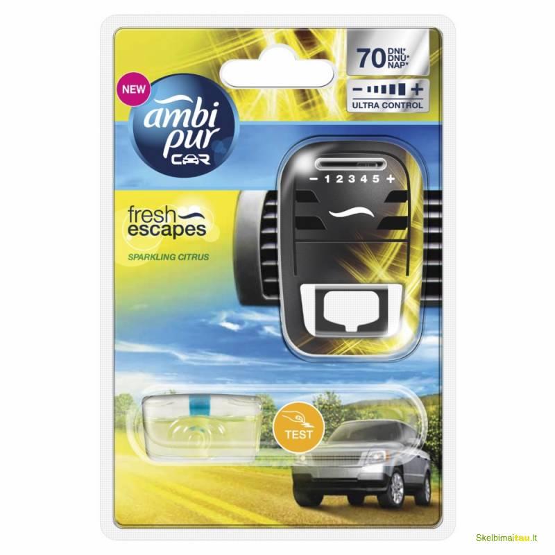 Naujausi automobiliniai ambi pur kvapai  tik už 4,8 eur.