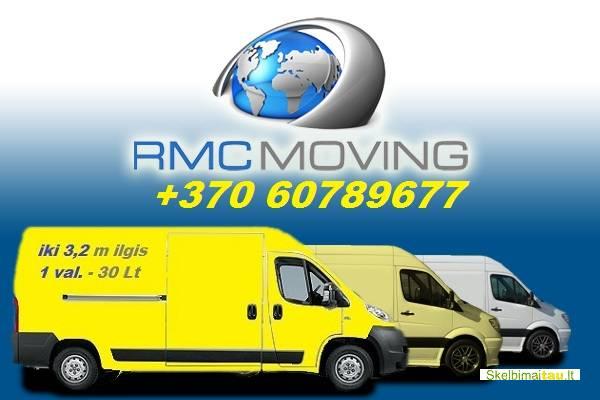 Perkraustymų paslaugos, baldų pervežimas  860789677