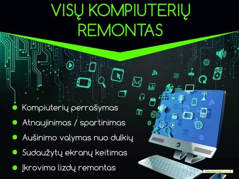 Pigiausios kompiuterinės paslaugos lietuvoje