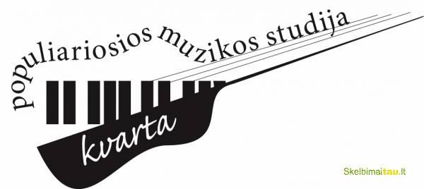 """Populiarios muzikos studija """"kvarta"""". gitara, dainavimas..."""