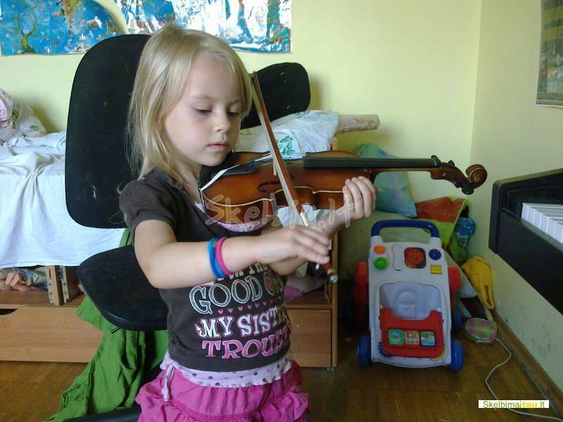 Smuiko,fortepijono pamokos vaikams