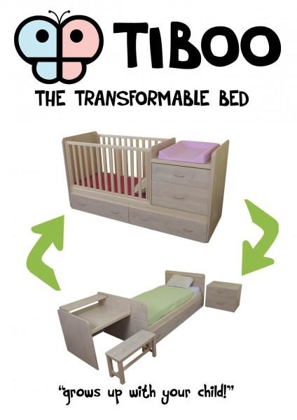 Transformuojama lova vaikams!