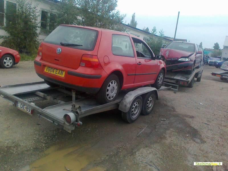 Volkswagen vw golf 1998 automobiliu pervezimas, gabenimas, p