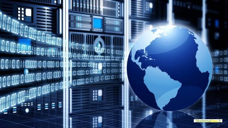 Web hostingas, serverių nuoma. svetainių talpinimas