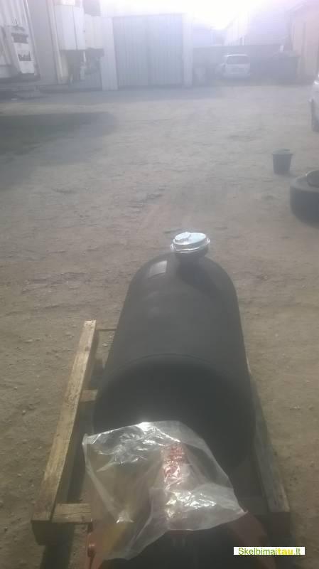 Dujų balionas 170 litrų. cilindras. ilgis -1 metras.