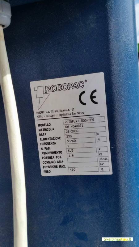 Naudotas palečių vyniotuvas rotoplat 505/pfs