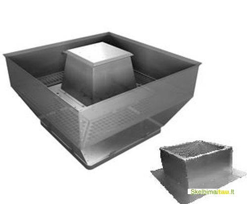 Stoginis dūmų šalinimo ventiliatorius rosenberg dvwb 710-4