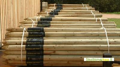 Postsaver  mediniu kuolų apsauga nuo puvinio