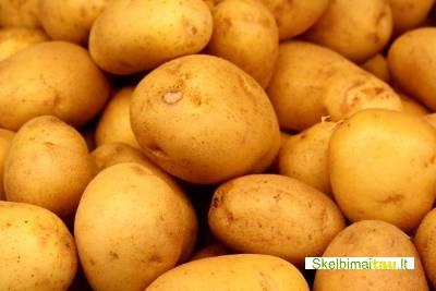Parduodu valgomąsias ir pašarines bulves, įvairiais kiekiais