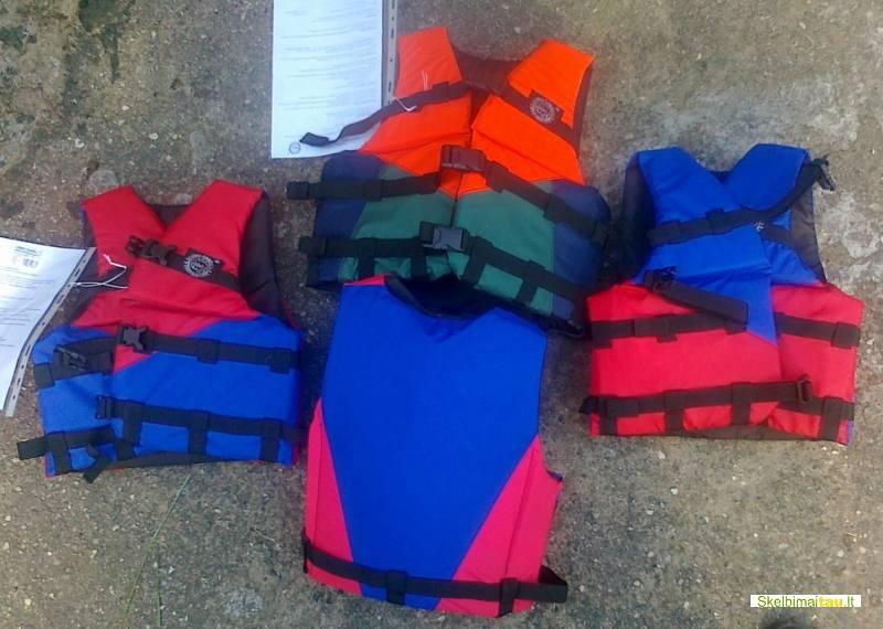 Žvejo gelbėjimosi liemenė